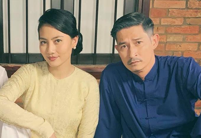 Ngọc Lan và Huy Khánh trong phim.